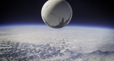 Destiny Traveler arrives above Earth