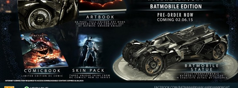Batman: Arkham Knight Set for June 2015