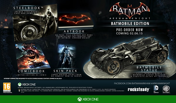 arkham knight ltd edition