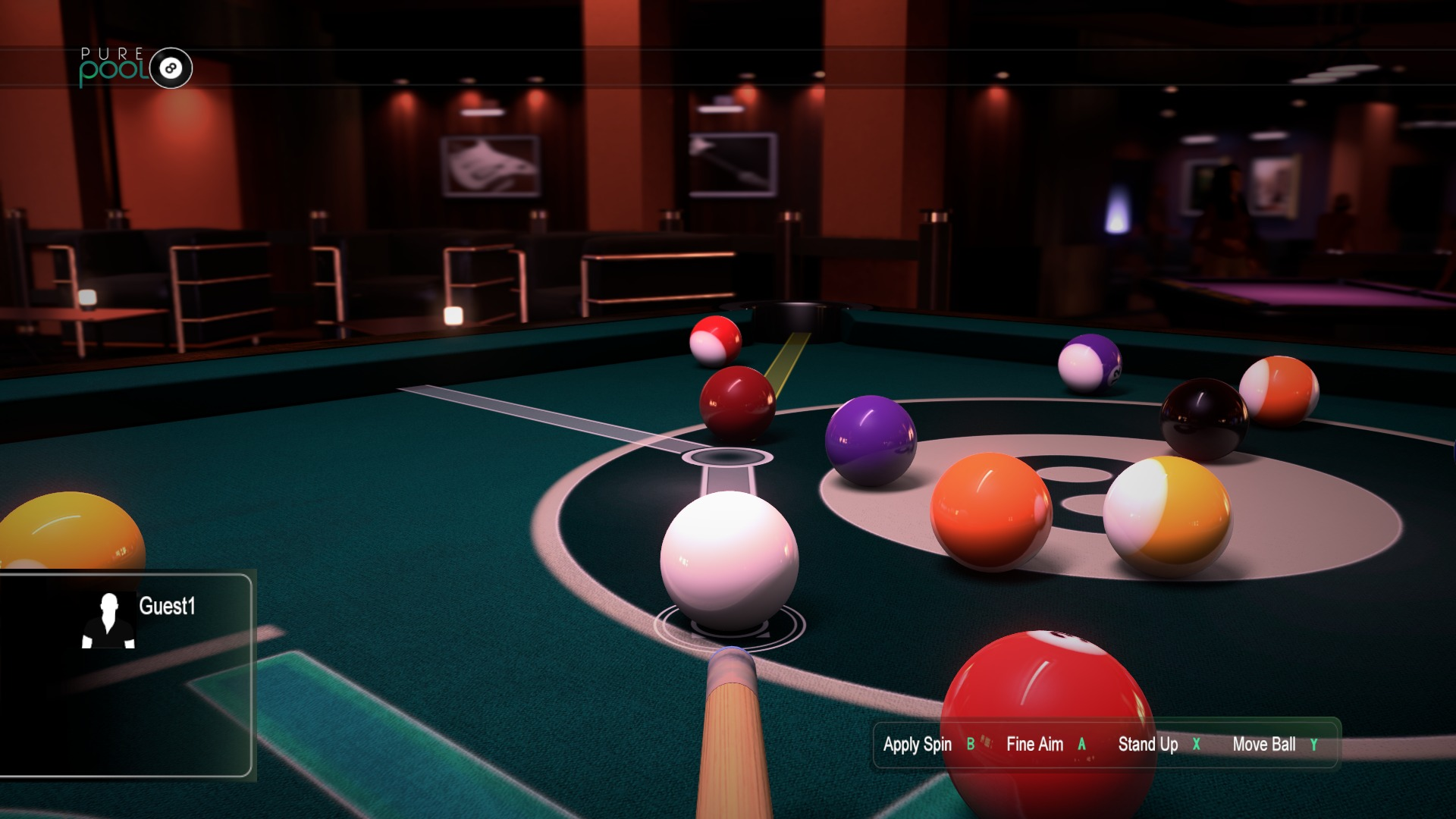 Pure Pool Xbox One screenshot (1)