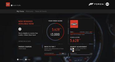 Forza Hub app speeds its way to the Xbox One