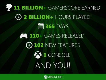 Celebrate One Year of Xbox One This Saturday