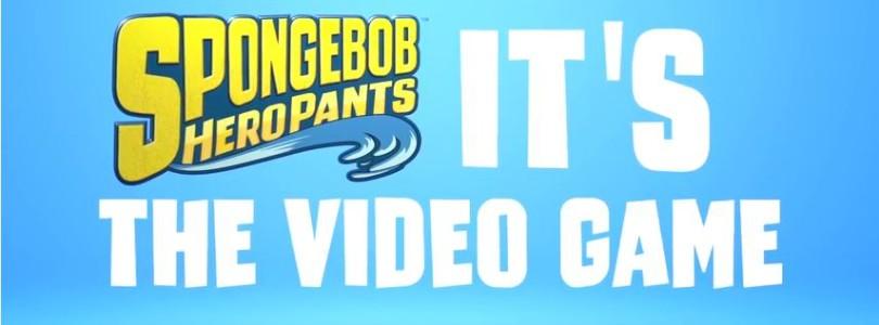 Spongebob shows us his Hero Pants