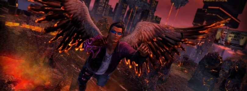 Saints Row IV re-elected edition gets a launch trailer straight outta hell