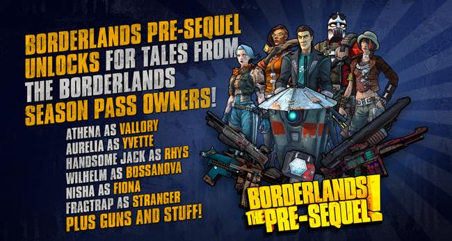 An unlockable treat for Borderlands: The Pre-Sequel! | This
