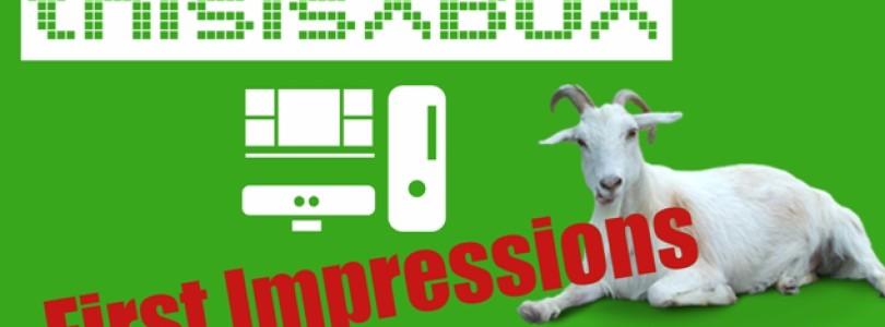 First Impressions Video: Goat Simulator