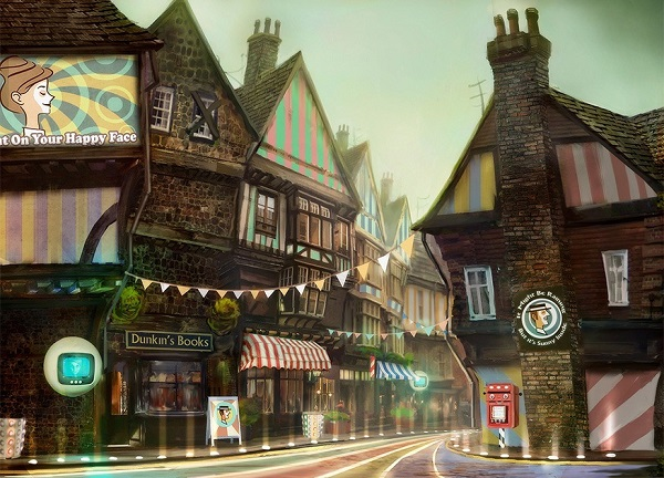 We Happy Few Concept Art