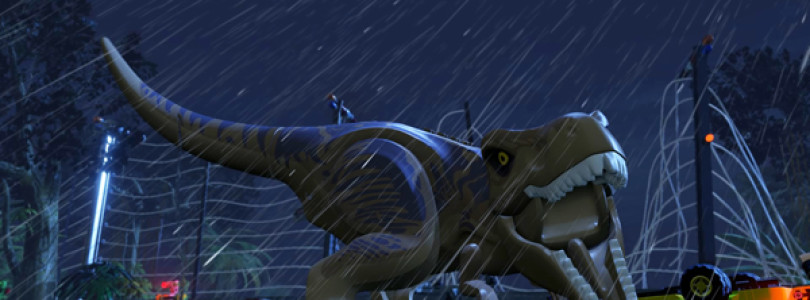 New Lego Jurassic World trailer shows off release date