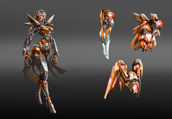 ARIA Concept Art