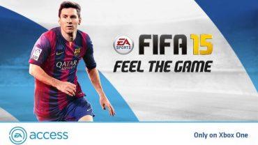 FIFA 15 joins EA Access