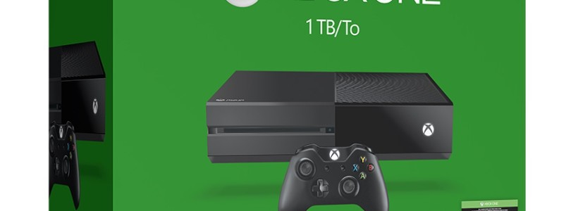 Microsoft officially announce 1TB Xbox One