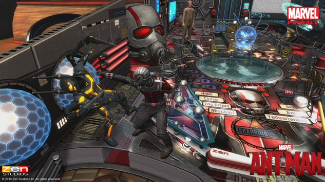 Ant-Man Pinball 1