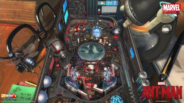 Ant-Man Pinball 2