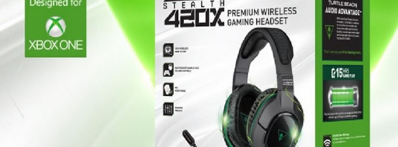 Turtle Beach: The Ear Force Stealth 420X available today