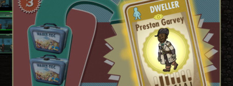 Legendary Dweller available on Fallout Shelter