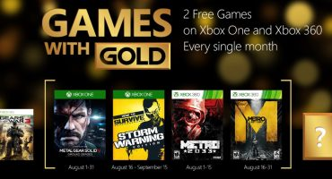 August Games with Gold revealed