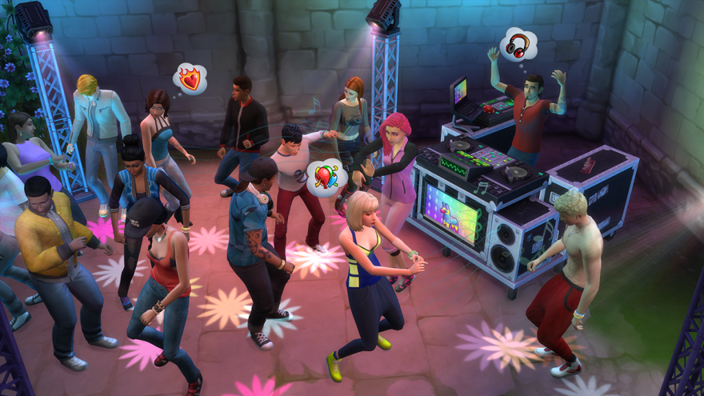 GetTogetherSims4party