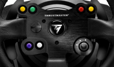 Take pole position with the Limited Edition Thrustmaster TX Racing Wheel