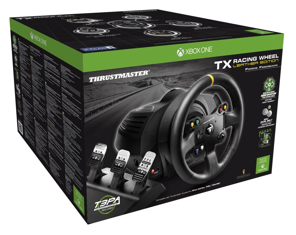 Thrustmaster TX_RW LE Package 2