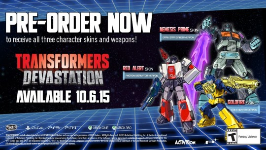 Transformers-Devastation-skins-weapons