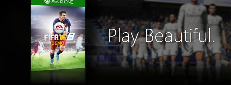 FIFA 16 demo now available