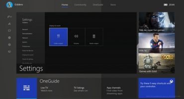 Tour of the new Xbox One dashboard