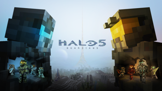 halo 5 guardians minecraft