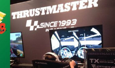 Thrustmaster – Day 1 at E3 2016