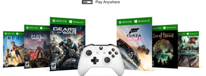 Xbox Play Anywhere: Confirmed titles
