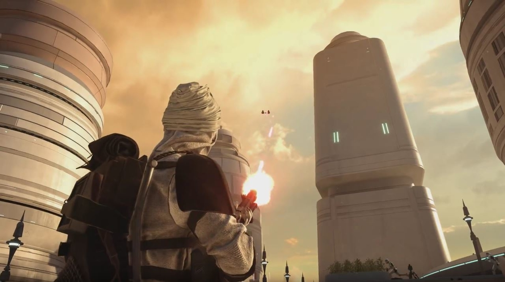 Star Wars Battlefront Bespin City DLC and new Characters