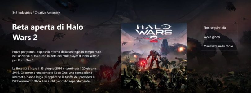 Halo Wars 2 Open beta begins next week