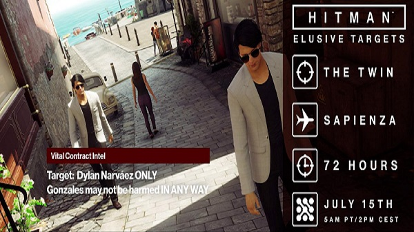 Hitman 'The Twin' Elusive Target