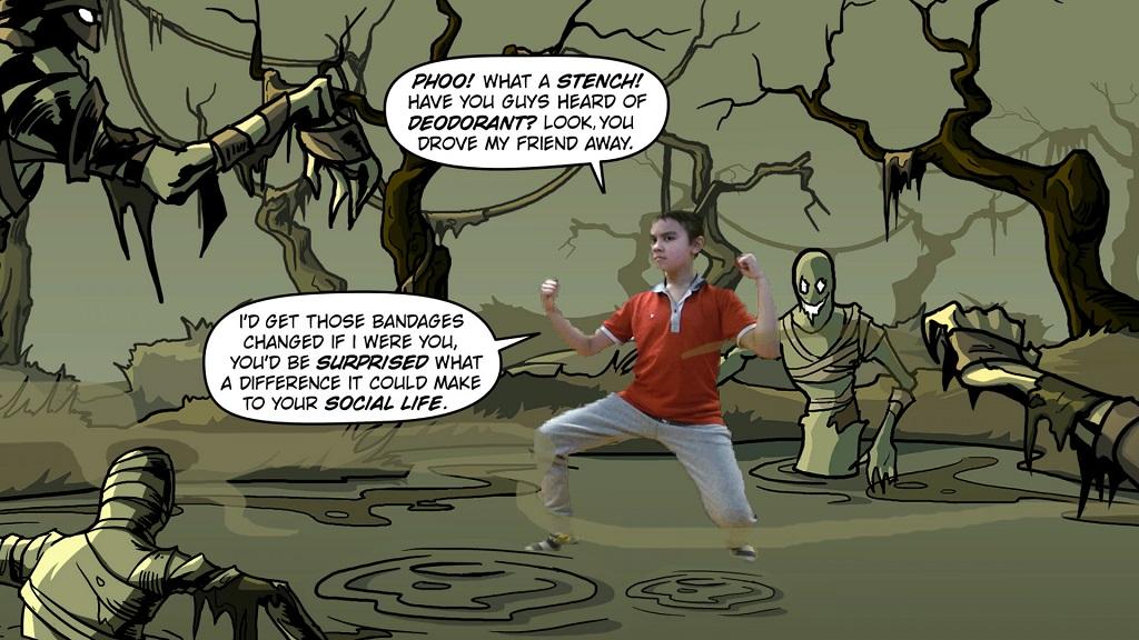 Kung-Fu Kinect 3