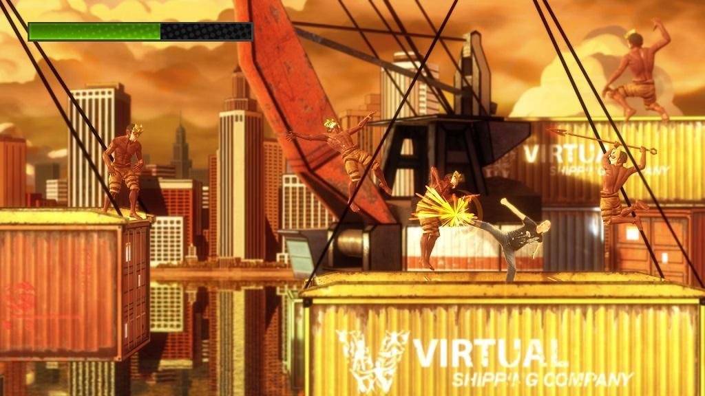 Kung-Fu Kinect 1