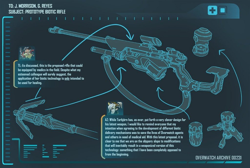 Overwatch Gun Blueprint