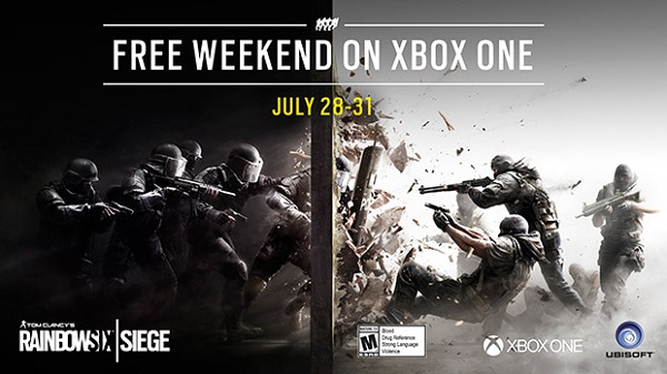 Rainbox Six Siege Free Weekend
