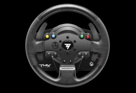 Race you for it… the Thrustmaster TMX Racing Wheel