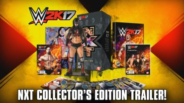 WWE 2K17 celebrates WWE NXT with collectors edition