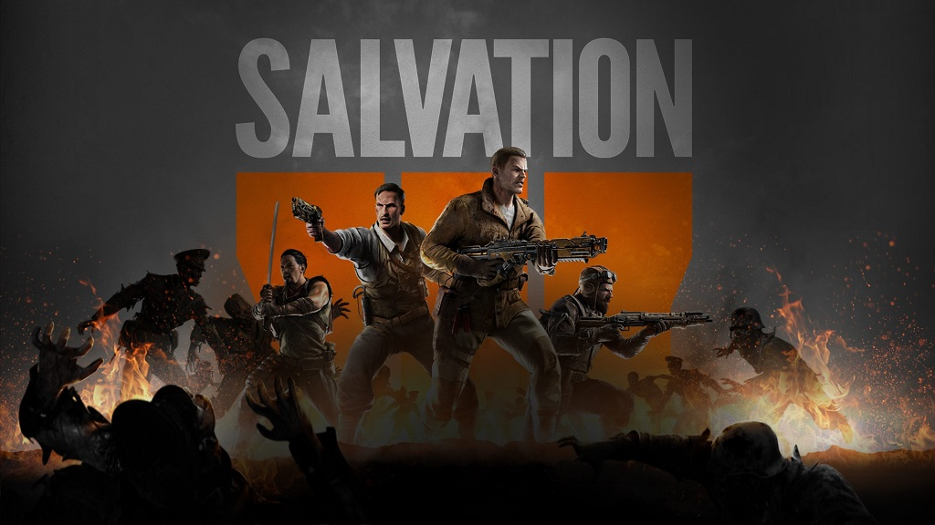 Black Ops 3 DLC4 Salvation Banner