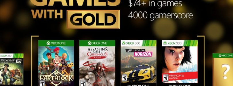 September's Games with Gold announced.