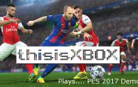 TiX plays… PES 2017 Demo