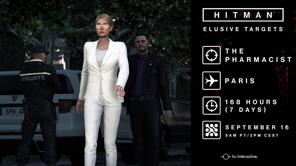 Hitman Elusive Target 10 - The Pharmacist