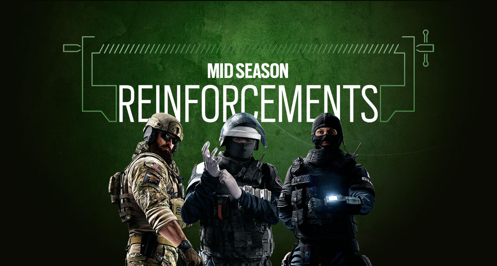 Rainbow Six Siege gets mid season reinforcements | This Is Xbox
