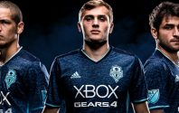 Seattle Sounders celebrate Gears of War 4