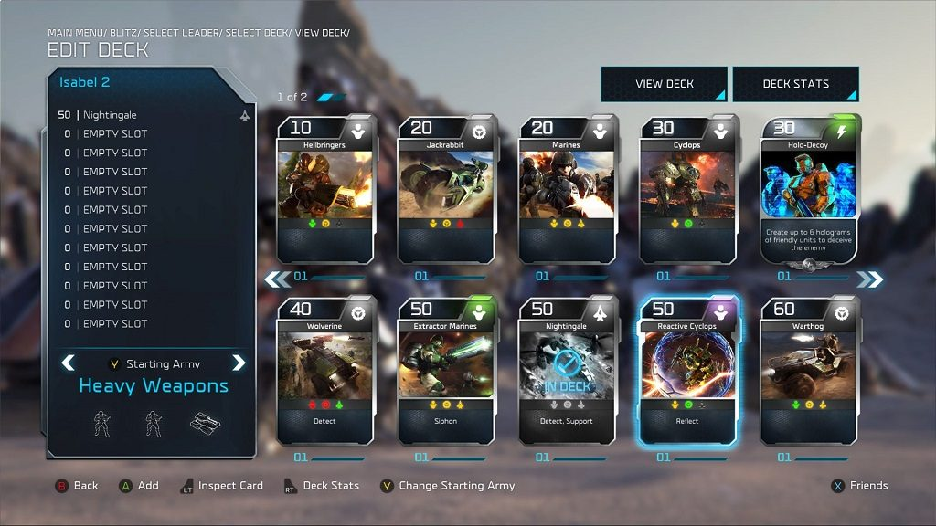 Halo Wars 2 Blitz Mode.