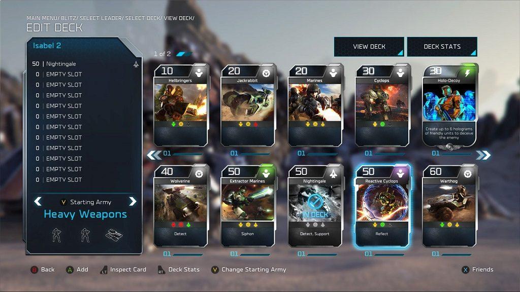 Halo Wars 2 Blitz Mode.