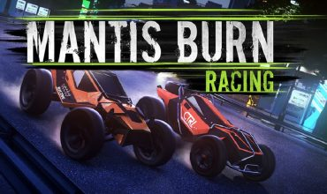 Mantis Burn Racing Header