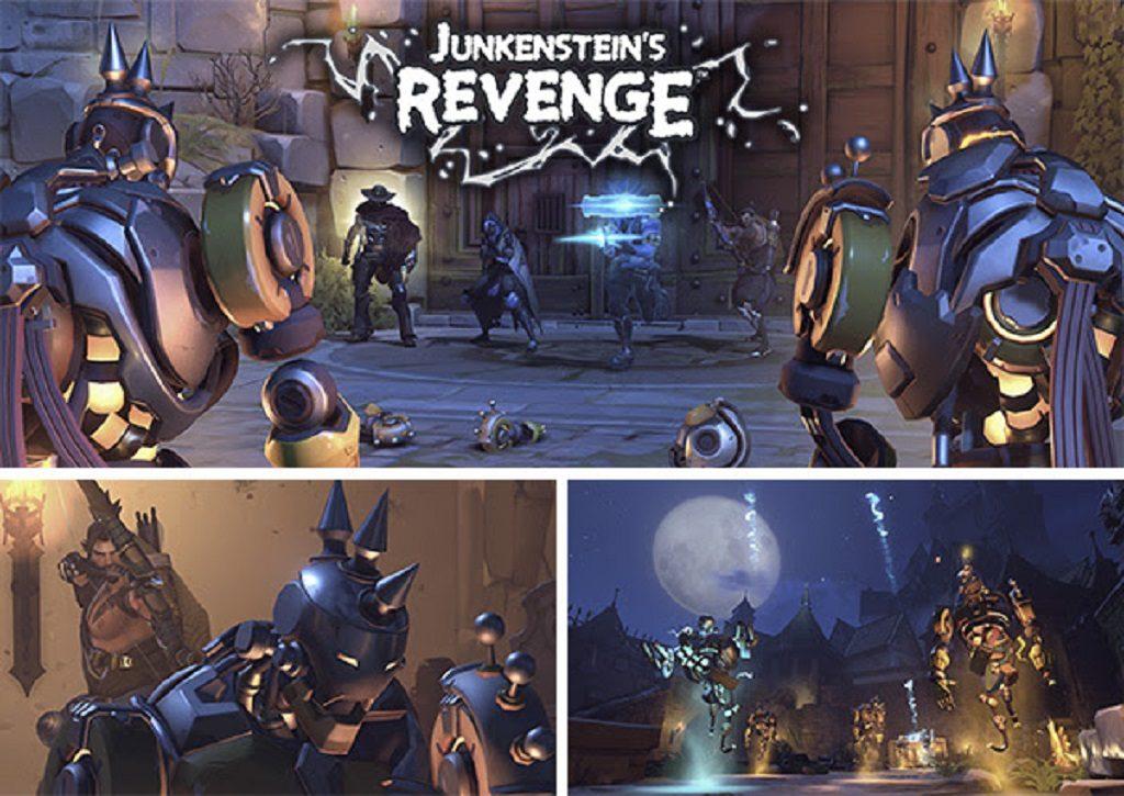 OverWatch Halloween Junkenstein's Revenge