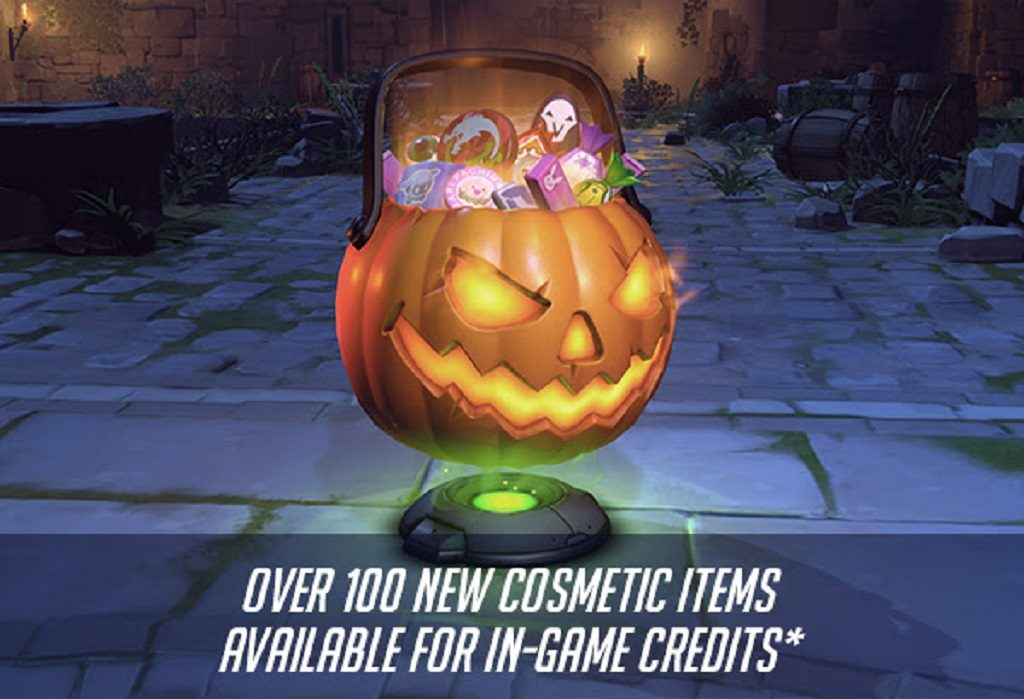 OverWatch Halloween Lootboxes