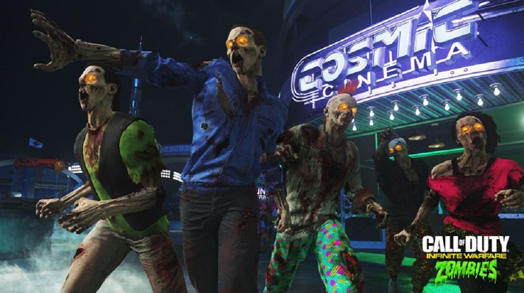 Call of Duty: Infinite Warfare Zombies in Space